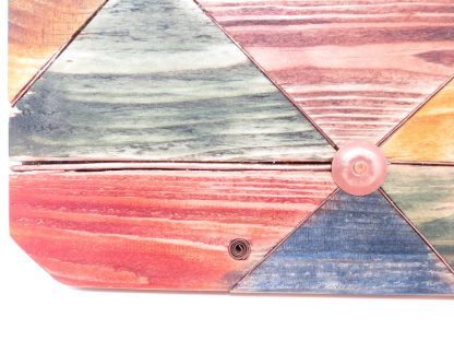 Upcycled Pallet Wood Block Clock | Palletwood Stuff