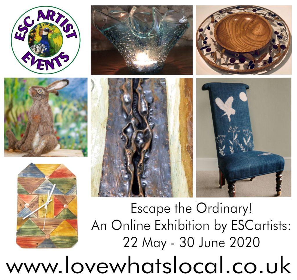 Online Escape the Ordinary Exhibition