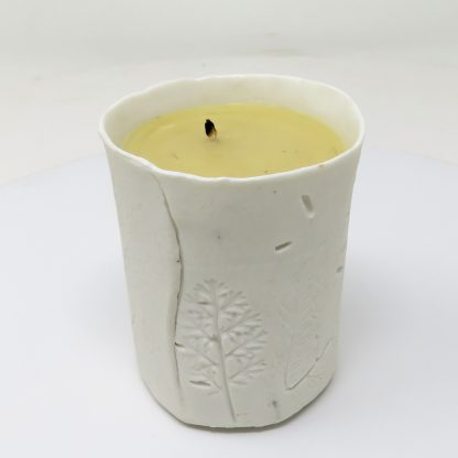 Large Porcelain Candle Pot | Dawn Isaac