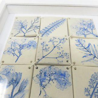 Nature's Print Flowers Mosaic | Dawn Isaac