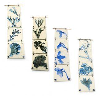 Nature's Print 4 Hanging Tiles - Various Designs | Dawn Isaac