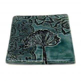 Nature's Print Hanging Tile | Dawn Isaac