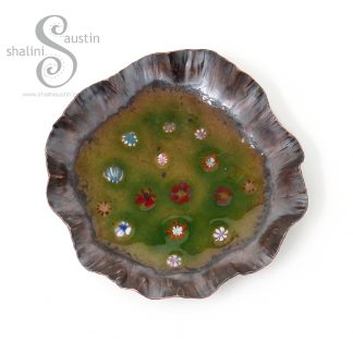 Enamelled Copper Trinket Tray | Shalini Austin