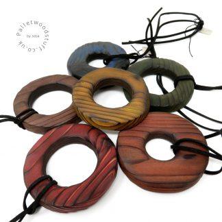 Rustic Wood Pendants - Various Colours | Palletwood Stuff