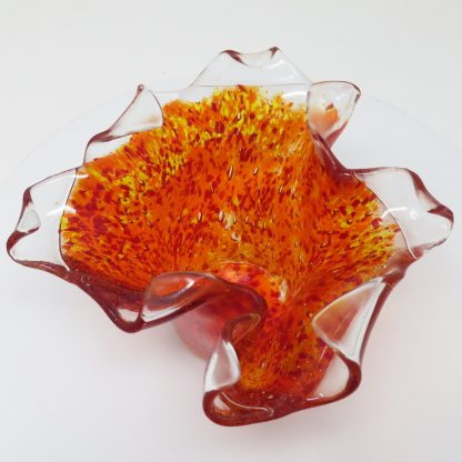 Bubble Candle Holder - Red | Anita Ruiz