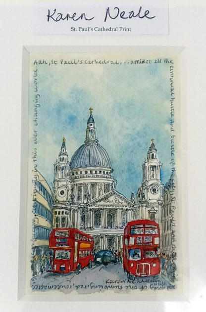 St. Paul's Cathedral Print   Karen Neale