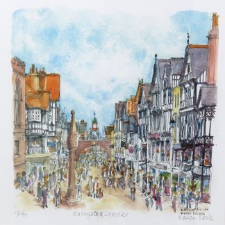 Eastgate Chester Limited Edition Print | Karen Neale