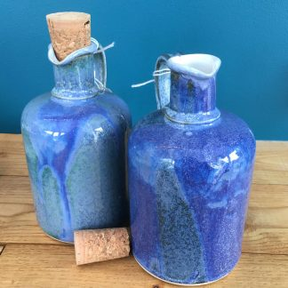 ceramic oil vinegar pourers