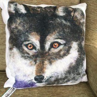 Wolf cushion eve marshall