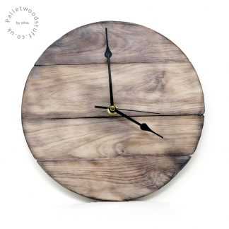 SAND DUNES Burnt Wood Clock | Palletwood Stuff