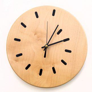 Black Dash Clock