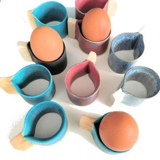 Egg Cup   Snail Pottery