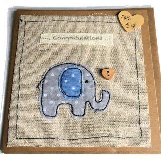 Congratulations Baby Card | Sew Fun in the Attic