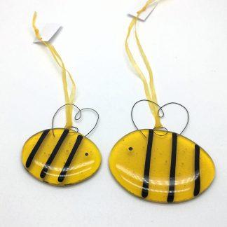 Fused Glass Bumblebee