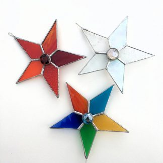 Stained Glass Star Decoration