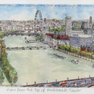Millbank Tower Limited Edition Print | Karen Neale