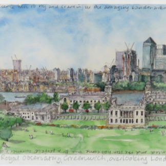 Royal Observatory, Greenwich Limited Edition Print | Karen Neale