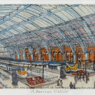 St Pancras Station Limited Edition Print | Karen Neale