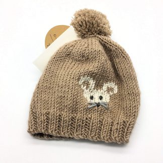 Bobble Hat with Mouse 0-3 months