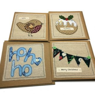stitched greeting card