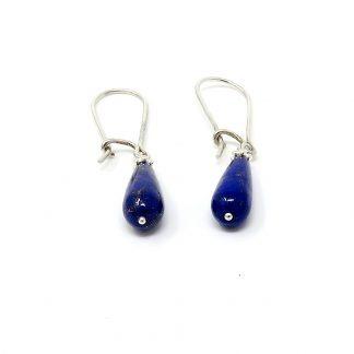 Lapis Lazuli & Sterling Silver Earrings | Wendy McLean