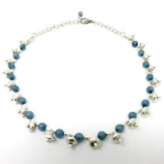 One Off-Blue Jade Necklace| Wendy Mclean