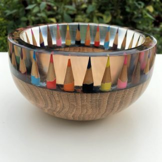 Oak Pencil Bowl